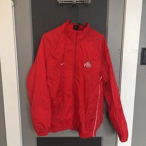 Nike OSU Ohio State Windbreaker jacket